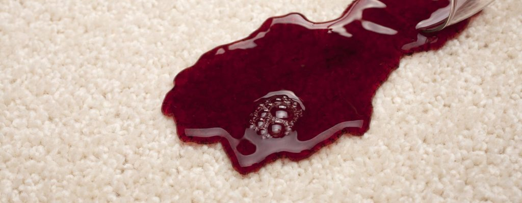 stain on rug